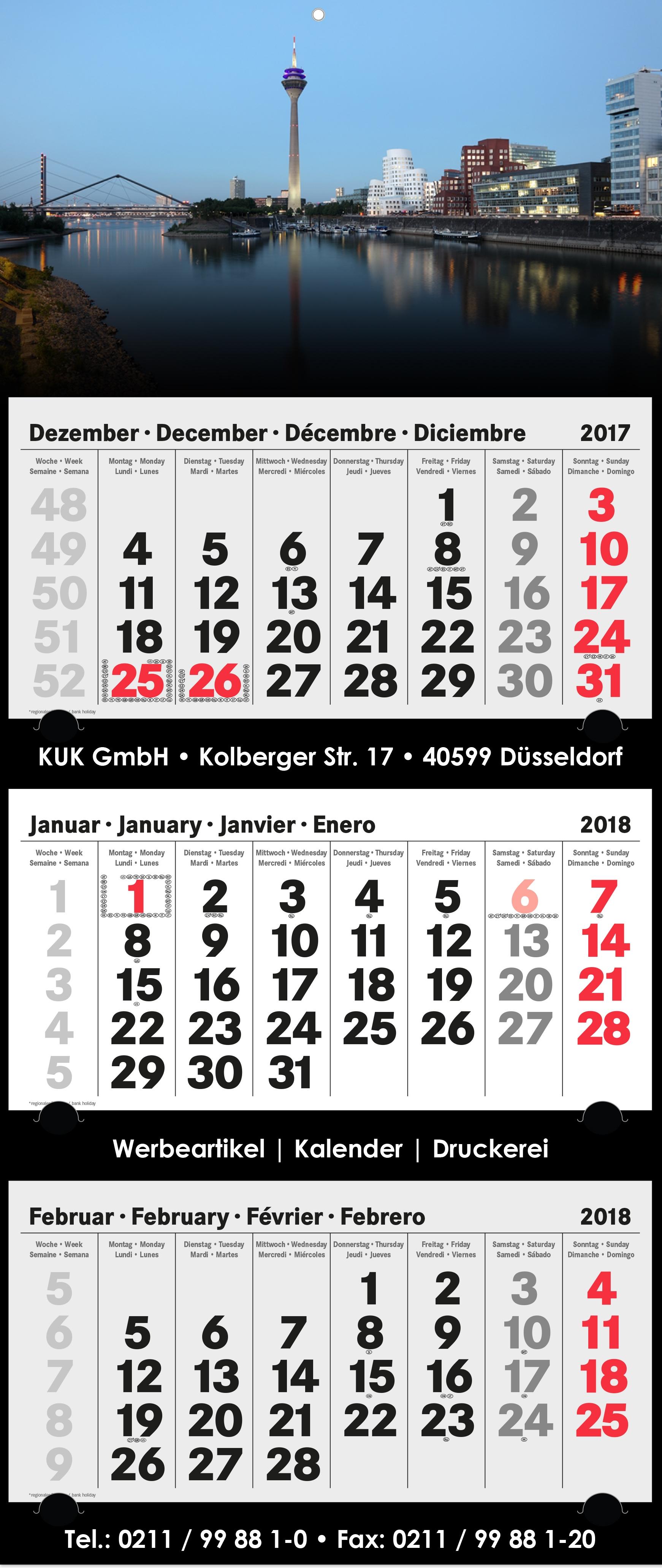 3-Monatskalender-2018 - xl