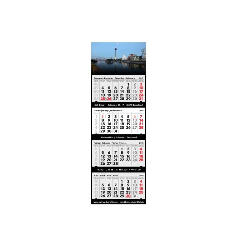 4 Monatskalender 2018