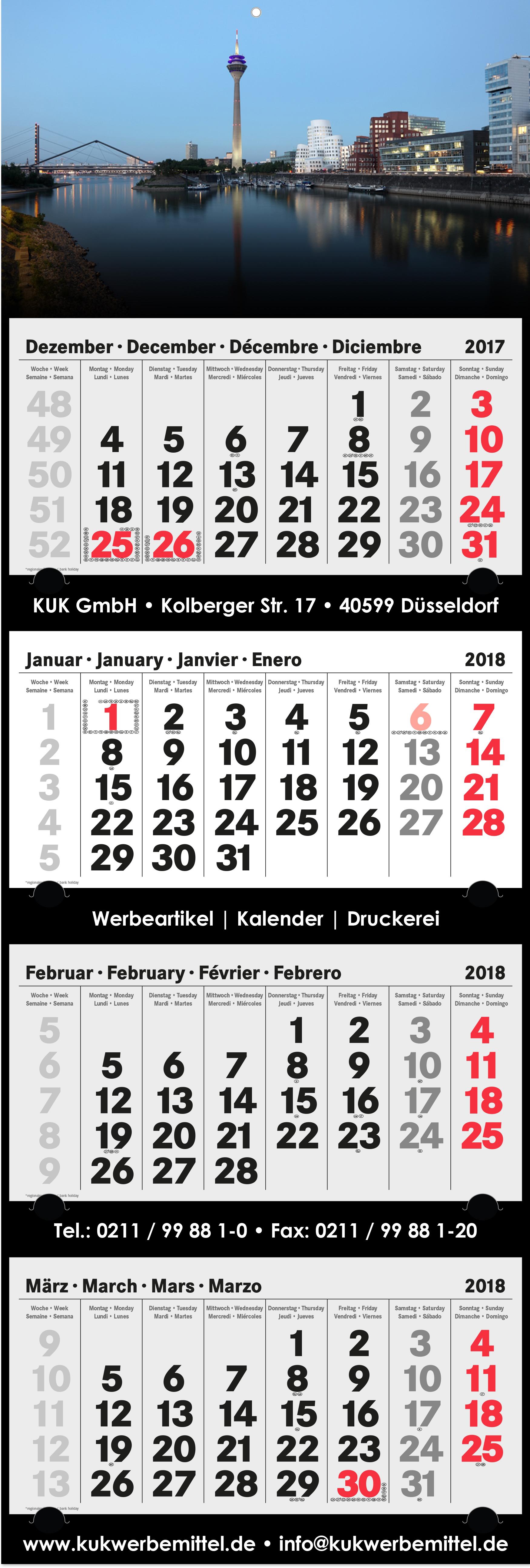 4-Monatskalender-2018 - xl