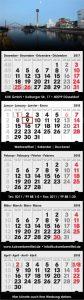 5-Monatskalender 2018 mit Werbung