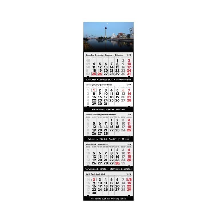 5-Monatskalender 2018