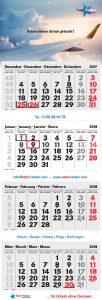 4-Monatskalender Star-Reisen II