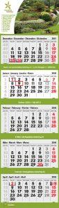 5-Monatskalender Garten- und Landschaftsbau Siebering