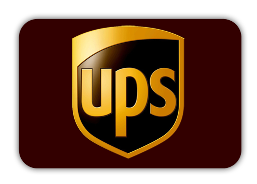 Lieferung per UPS